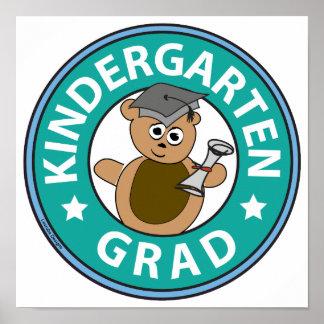 Kindergarten Graduation Poster