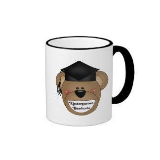Kindergarten Graduation T-shirts and Gifts Ringer Coffee Mug