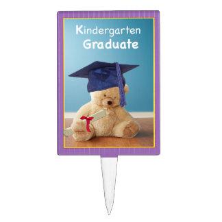 Kindergarten Graduation Teddy Bear Cake Topper