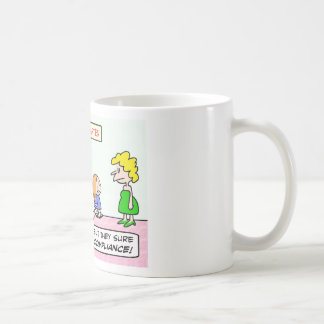 Kindergarten is all about compliance coffee mug