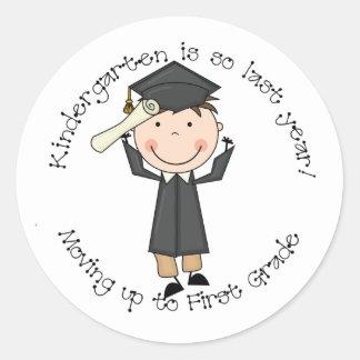 Kindergarten Is So Last Year Sticker (Boy)