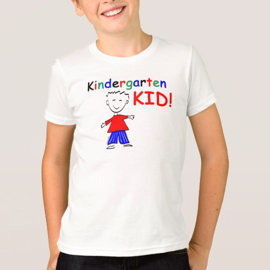 Kindergarten Kid Boys T-shirt