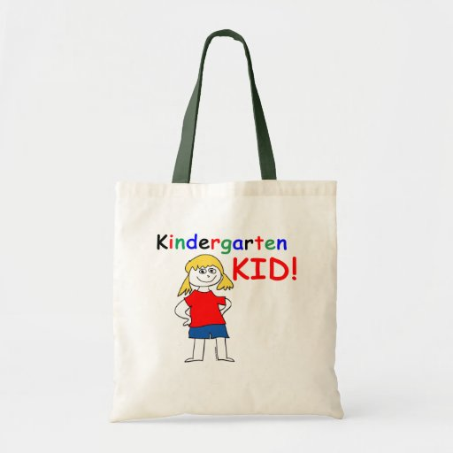 Kindergarten Kid Girls Canvas Bag
