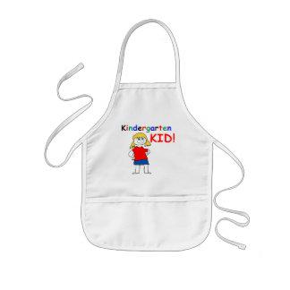 Kindergarten Kid Girls Kids' Apron