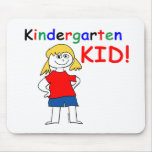 Kindergarten Kid Girls Mouse Pad