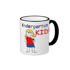 Kindergarten Kid Girls Mug