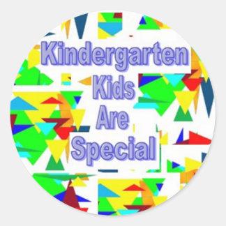 Kindergarten Kids are Special Classic Round Sticker