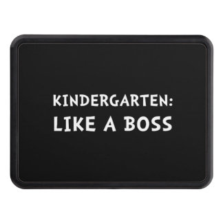 Kindergarten Like A Boss Hitch Cover
