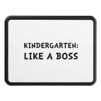 Kindergarten Like A Boss Tow Hitch Cover