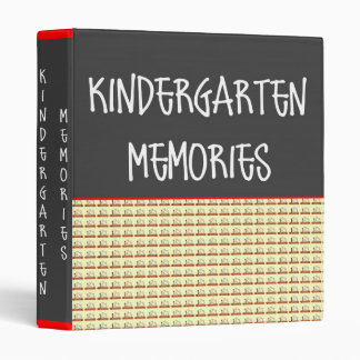 Kindergarten Memories Photo Binder Template