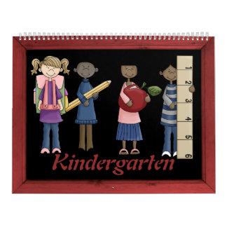 Kindergarten Memory Book Calendars