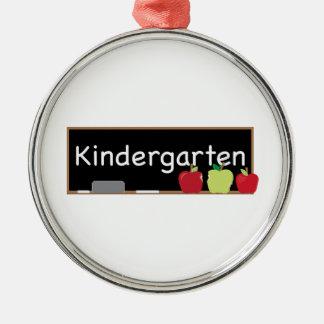 Kindergarten Metal Ornament