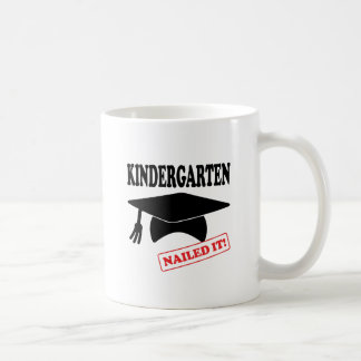 Kindergarten Nailed It Coffee Mug