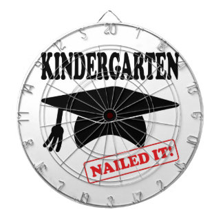 Kindergarten Nailed It Dartboard With Darts