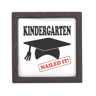Kindergarten Nailed It Jewelry Box
