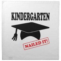 Kindergarten Nailed It Napkin