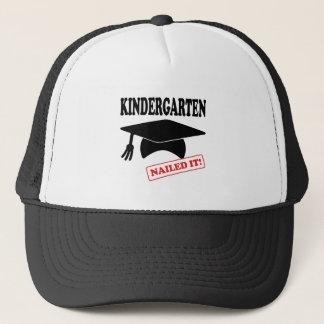 Kindergarten Nailed It Trucker Hat