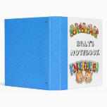 kindergarten Notebook Binder