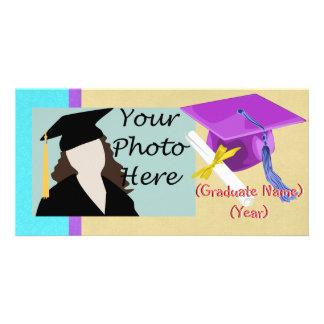 Kindergarten or Preschool Graduation Photo Card