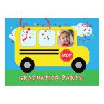 Kindergarten or Preschool Graduation Photo Invitat 5x7 Paper Invitation Card