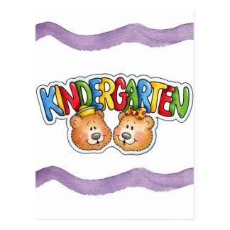 Kindergarten Postcard