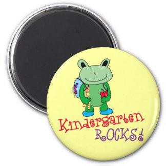Kindergarten Rocks 2 Inch Round Magnet