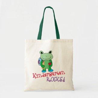 Kindergarten Rocks Book Bag bag