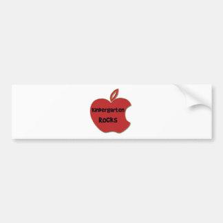 Kindergarten Rocks Bumper Sticker