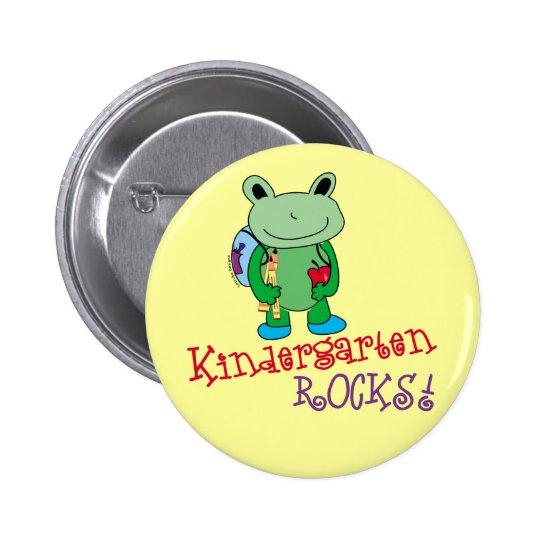 Kindergarten Rocks Button