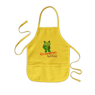 Kindergarten Rocks Kids' Apron