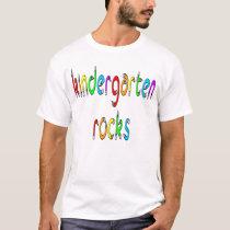 Kindergarten Rocks - Pencil Kids T-Shirt