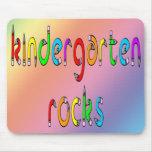 Kindergarten Rocks - Pencil Mouse Pad