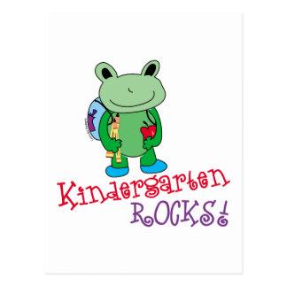 Kindergarten Rocks Postcards