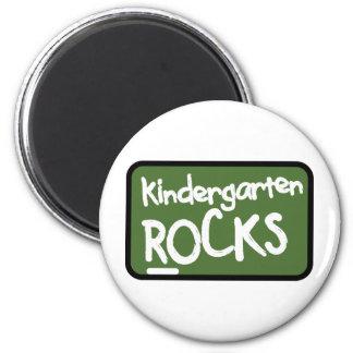 Kindergarten Rocks T-shirt 2 Inch Round Magnet