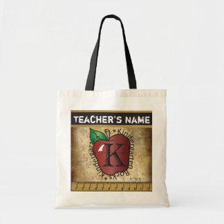 Kindergarten Rocks Vintage Styled | Teacher Tote Bag