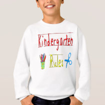 Kindergarten Rules Sweatshirt