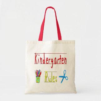 Kindergarten Rules Tote Bag