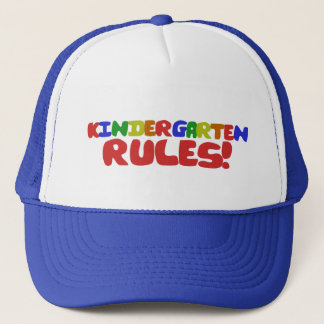 Kindergarten Rules Trucker Hat