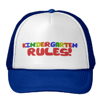 Kindergarten Rules Trucker Hat