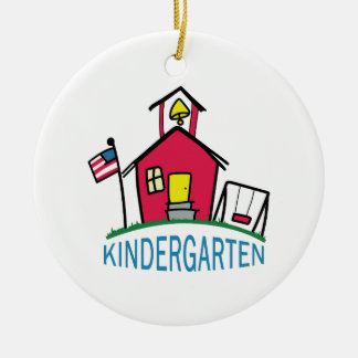 KINDERGARTEN SCHOOL CERAMIC ORNAMENT