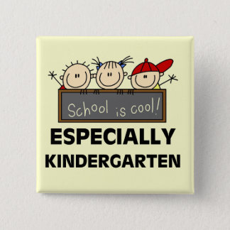 Kindergarten School is Cool Tshirts and Gifts Button