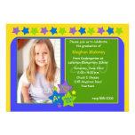 Kindergarten Star Graduation Party Invitation