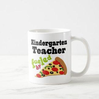 Kindergarten Teacher (Funny) Pizza Coffee Mug