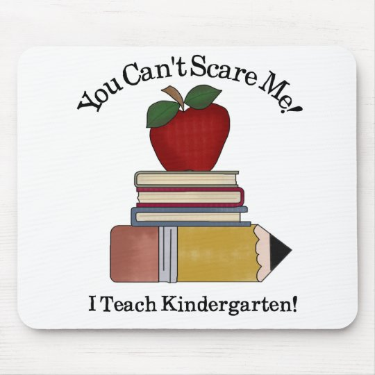 kindergarten teacher mouse pad