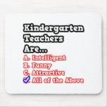 Kindergarten Teacher Quiz...Joke Mouse Pads