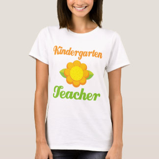 Kindergarten Teacher Sunflower T-Shirt
