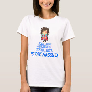 Kindergarten Teacher, Super Hero Teacher T-Shirt