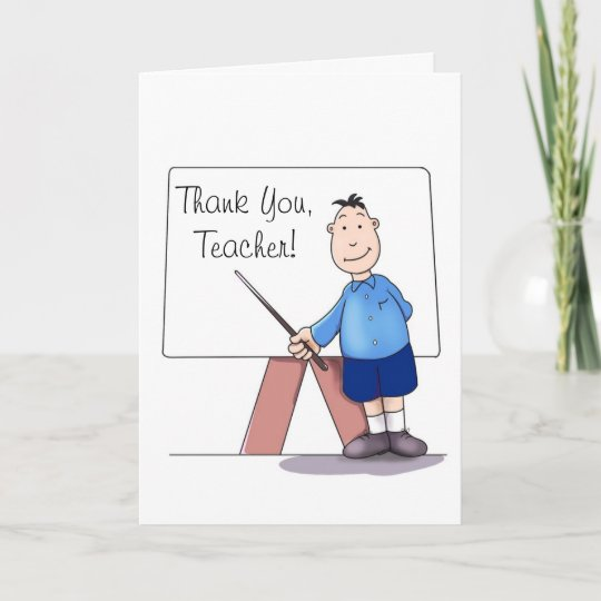 what to write in a kindergarten teachers thank you card