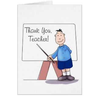 Thank you from students greeting cards zazzle kindergarten teacher thank you card from student card m4hsunfo