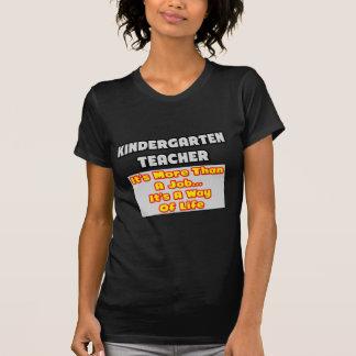 Kindergarten Teacher...Way of Life Shirt